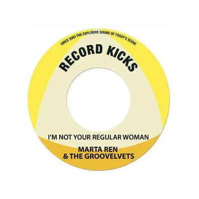 I'M NOT YOUR REGULAR WOMAN / BE MA FELA (LTD 150 CLEAR VINYL)