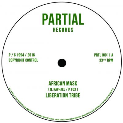 AFRICAN MASK / WRITING ON THE WALL (LTD 500)